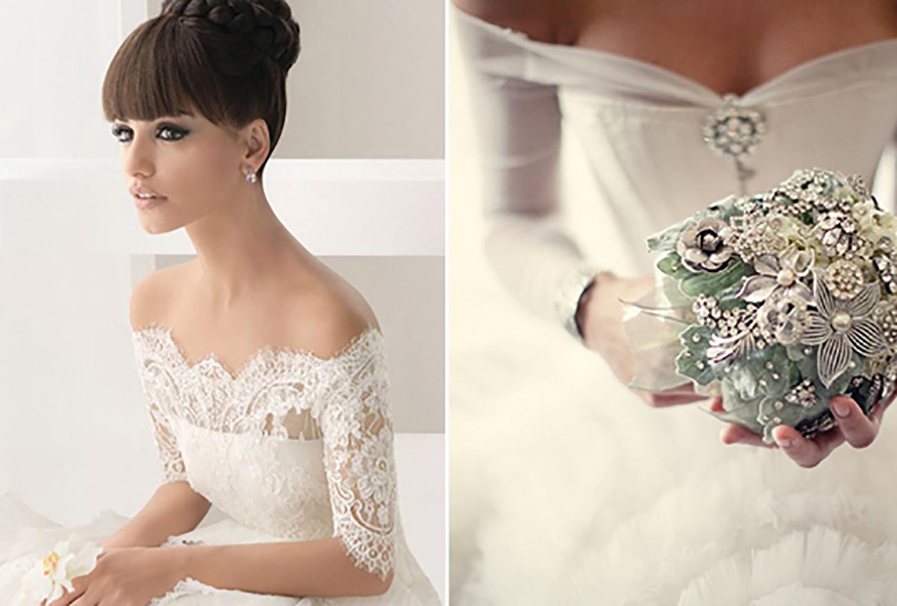 Ochladilo sa - svadobné šaty v zime