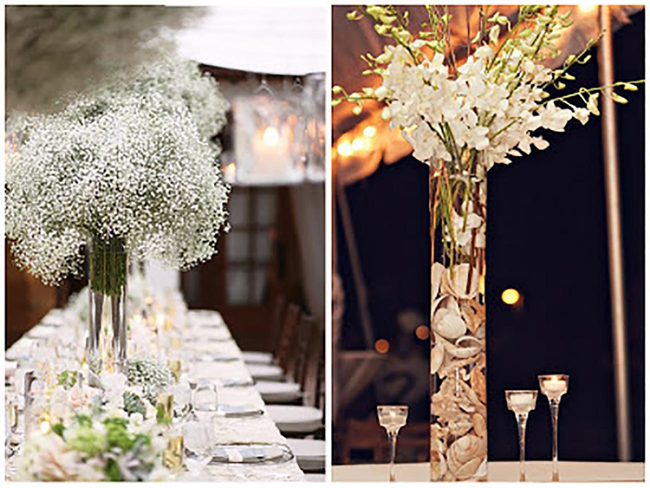 """Kvetinové dekorácie na """"stračej nôžke"""""""