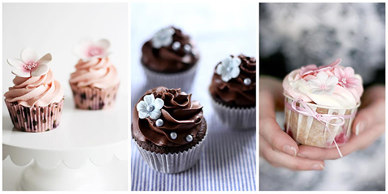 Cupcakes na vašu svadbu